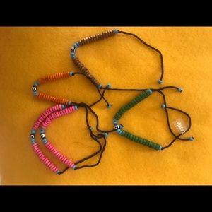 Beautiful handcrafted beaded Turkish bracelets